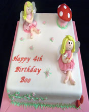 4th Birthday Cake