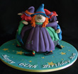 Witches Couldron cake