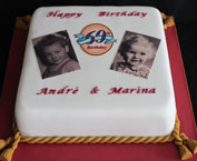 Edible Photo Cake 2