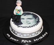 Edbile photo cliff richard cake