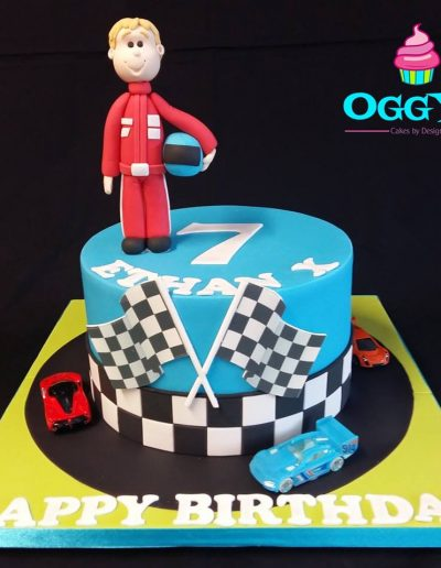 Race Driver Cake