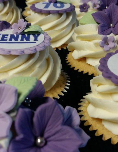 Jenny's birthday Cup Cakes