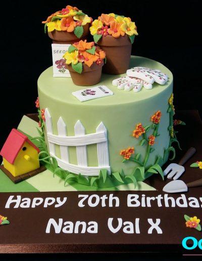 Gardening Cake Nana