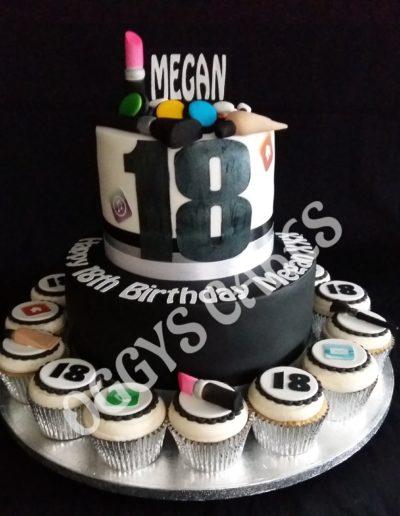 Make Up Cake & Cupcakes