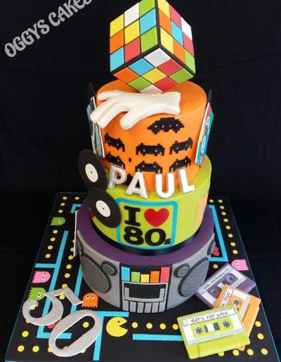 1980's Cake