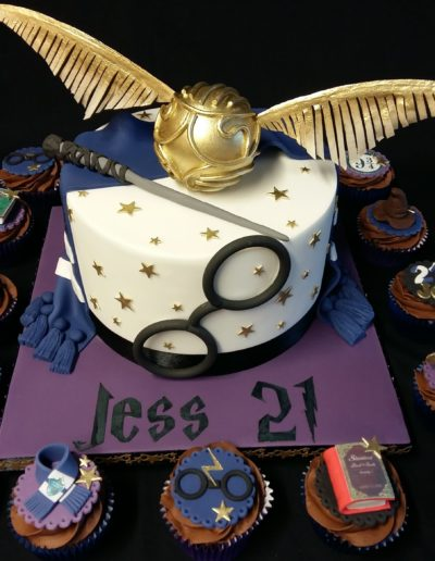 Harry Potter Cak & Cupcakes