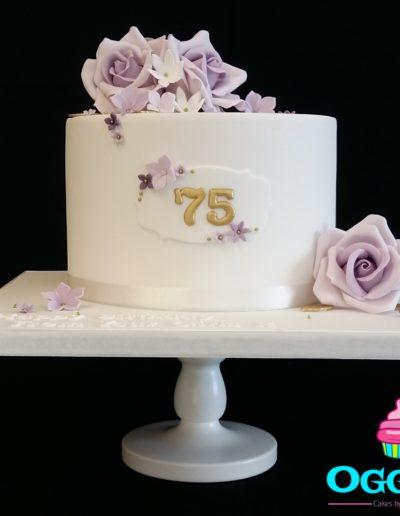 Lilac Rose Cake