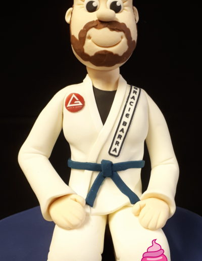 Jiu Jitsu Cake Topper