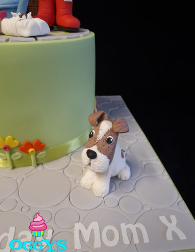 Jack Russel Cake Topper