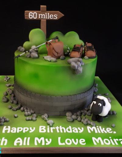Wlking \ Hiking Cake