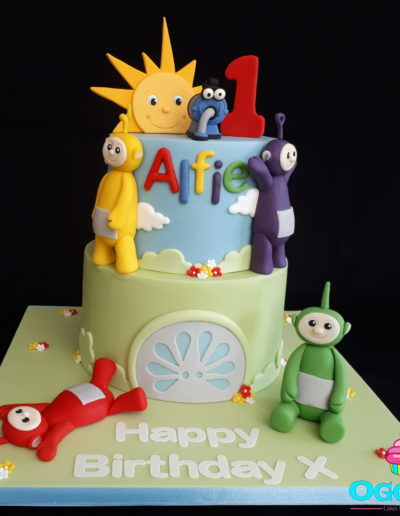 Teletubbies Tiered Cake