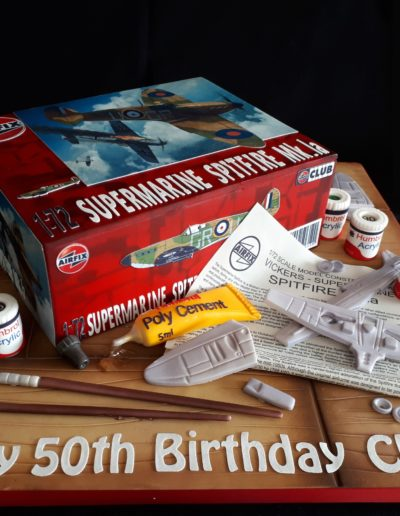 Air Fix Model Making Cake