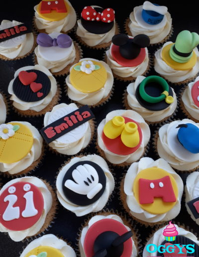 Disney Style Cupcakes