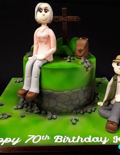 Wlking & Hiking Cake