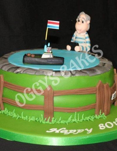 Remote Control Boat Cake